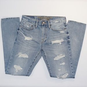 AMERICAN EAGLE Slim Fit Distressed jeans sz 28X32